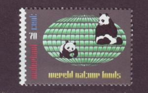 J13745 JLstamps 1984 netherlands set of 1 mnh #660 WWF pandas