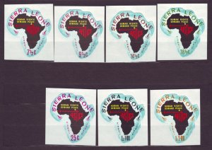 J22709 Jlstamps 1968 sierra leone set mnh #c72-8 map