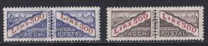 San Marino # Q40-41, Parcel Post, Perf Between, LH, 1/2 Cat.