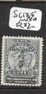 PARAGUAY  (PP1903B)  SC 135  MNH