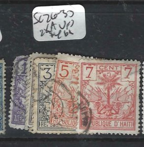 HAITI  (P1506B)  SC 26-30, 28A       VFU