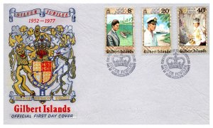 Gilbert & Ellice Islands, Royalty, Worldwide First Day Cover