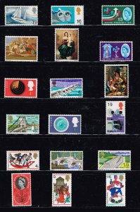 UK STAMP GREAT BRITAIN MNH STAMPS COLLECTION LOT  #M2