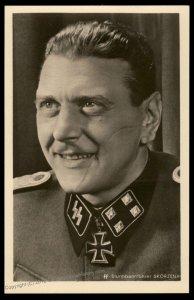 3rd Reich Ritterkreuztraeger SS Sturmbannfuehrer Otto Skorzeny Hoffmann R1 93251