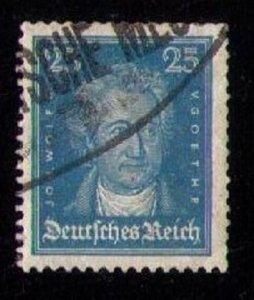 Germany, 25pf Scott #358 Used Blue VF