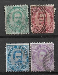 COLLECTION LOT #223 ITALY 14 STAMPS 1879+ CV+$70 4 SCAN