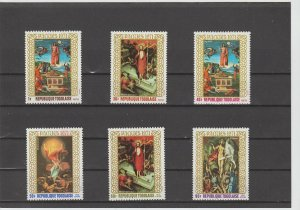 Togo  Scott#  771-3, C146-8  MNH  (1971 Easter)