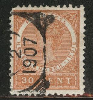 Netherlands Indies  Scott 56 used from 1903-08 set
