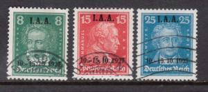 Germany #363 - #365 VF Used Set