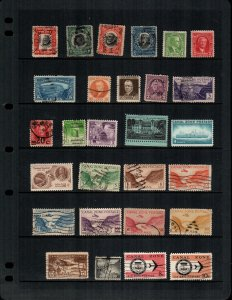 Canal Zone  27 diff mint and used stamps