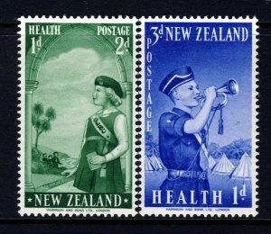 NEW ZEALAND 1958 Health Stamps Set SG 764 & SG 765 MINT