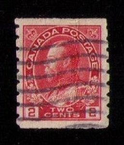 Canada Sc 127 Used Fine to Very Fine Perf 8 Vert.
