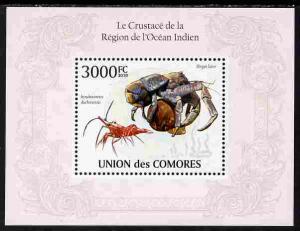 Comoro Islands 2010 Crustaceans from the Indian Ocean Reg...