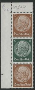 Germany Scott # 416 (2), 419, mint nh, se-tenant, Mi# S152