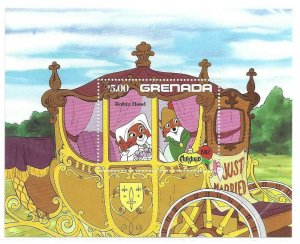 1982  GRENADA  -  SG.  MS 1231  -  DISNEY - ROBIN HOOD  -  MNH
