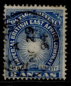 BRITISH EAST AFRICA QV SG12, 8a blue, FINE USED. Cat £12.