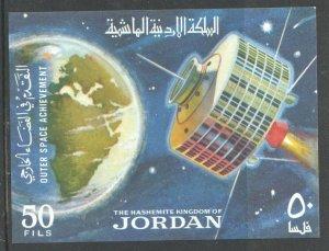 1965  JORDAN  -  SG: MS 687  -  OUTER SPACE ACHIEVEMENTS - UNMOUNTED MINT