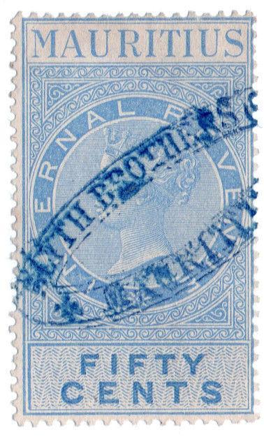 (I.B) Mauritius Revenue : Internal Revenue 50c