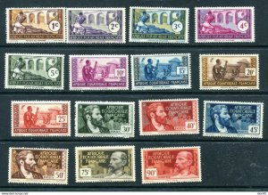 French Equatorial Africa MNH Selection Sc 33-42 45-6 48 53 55 11409