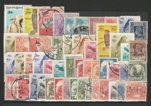 Burma Official Ordinary Birds Very Fine MNH** & Used Stamps Lot Collection 15400