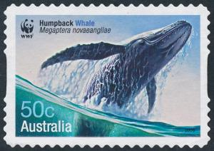 Australia 2006 50c Endangered Species, Whales - Humpback Whale S/A SG2665 Used 2