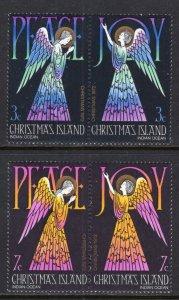Christmas Island 55-58a Christmas MNH VF