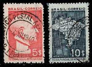 #497-8 Brazil used