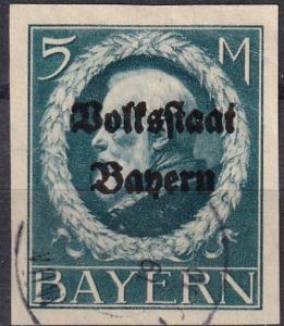 Bavaria #173 F-VF Used CV $55.00 (A18312)
