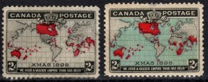Canada #85-6 F-VF Unused CV $90.00 (X3255)