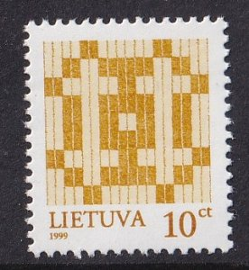 Lithuania   #618a  MNH 1999  crosses 10c
