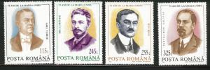 ROMANIA Scott 3865-8 MNH** Government Leader set 1993