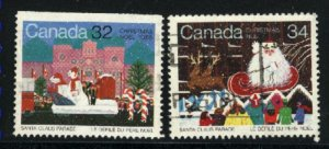 Can #1067,1070   -1  used VF 1985 PD