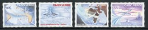 Cape Verde 896-99 MNH Cycle of Avaition Set from 2007