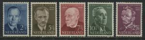 Netherlands Semi-Postal set of 5 mint o.g.