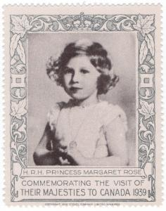 (I.B) Canada Cinderella : Royal Visit 1939 (Princess Margaret)
