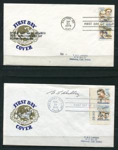 USA 1978 and 1979 4 FDC  OH KS PA OK 1910hs