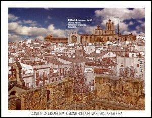 HERRICKSTAMP NEW ISSUES SPAIN World Heritage, Tarragona Large Size S/S