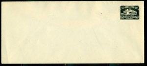 US #U527 4¢ Mount Vernon entire, unused, VF, Scott $25.00