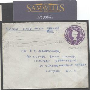 GB NORTHERN IRELAND LETTER County Donegal Railways samwells-covers] 1959 MS82