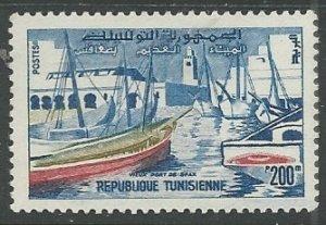 Tunisia    Scott # 363 - MH