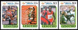 Lesotho - 1990 Olympic Games Barcelona 1992 Set & MS MNH** SG 984-988