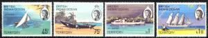 British Indian Ocean Territory Sc# 35-38 MNH 1969 Water Vessels