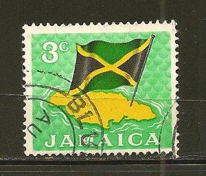 Jamaica 221 Flag Used