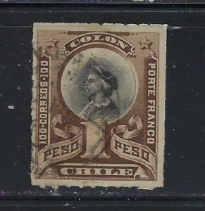 Chile 36 Used 1892 issue