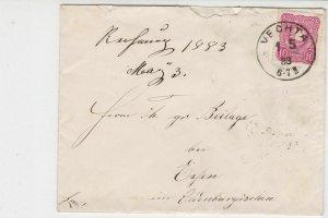 Germany 1883 Stamps Cover to Essen Oldenburg Vechta Cancel Ref 23261