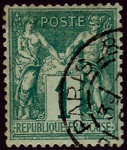 Important France #64 Used VF hr SCV$70...From a great collection!
