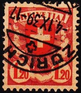 Switzerland. 1924 1f20 S.G.330 Fine Used