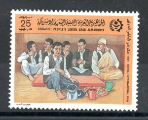 1984 - Libya -The 22th International Trade Fair, Tripoli- Costumes- 1v.MNH**
