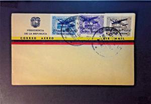 Ecuador 1947 Airmail Set on COver (FDC?) - Z730