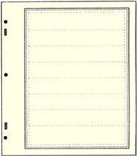 Stocksheets, Advantage, Nat'l Border, 8 Pkt, Pkg 10, AD18